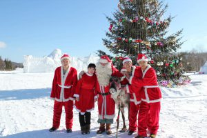 The First Finnish Santa Claus PEKKA to China Mohe Santa Village