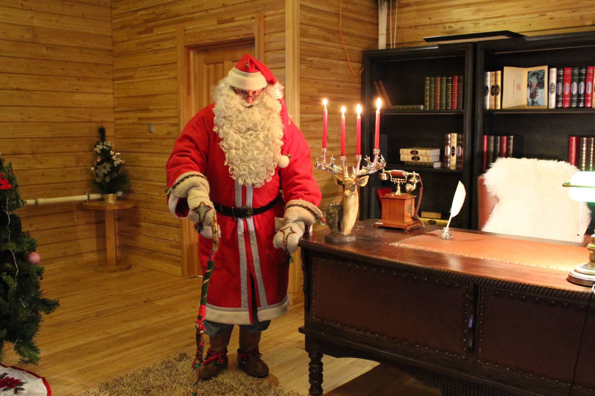 The 1st Finnish Santa Claus Pekka in 2010
