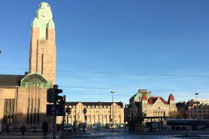 赫尔辛基火车站景